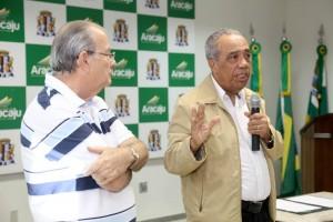 João e Luiz Durval: obras públicas